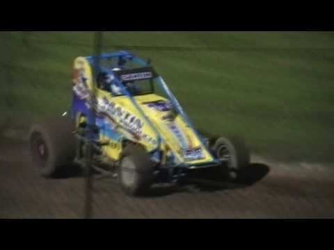 2017 Australian Wingless GP - Prelim A-Main - Lismore Speedway - 13.01.17 - dirt track racing video image