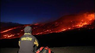 Italy's Mount Etna erupts| CCTV English