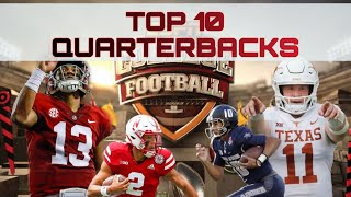 Top 10 College Football Quarterbacks