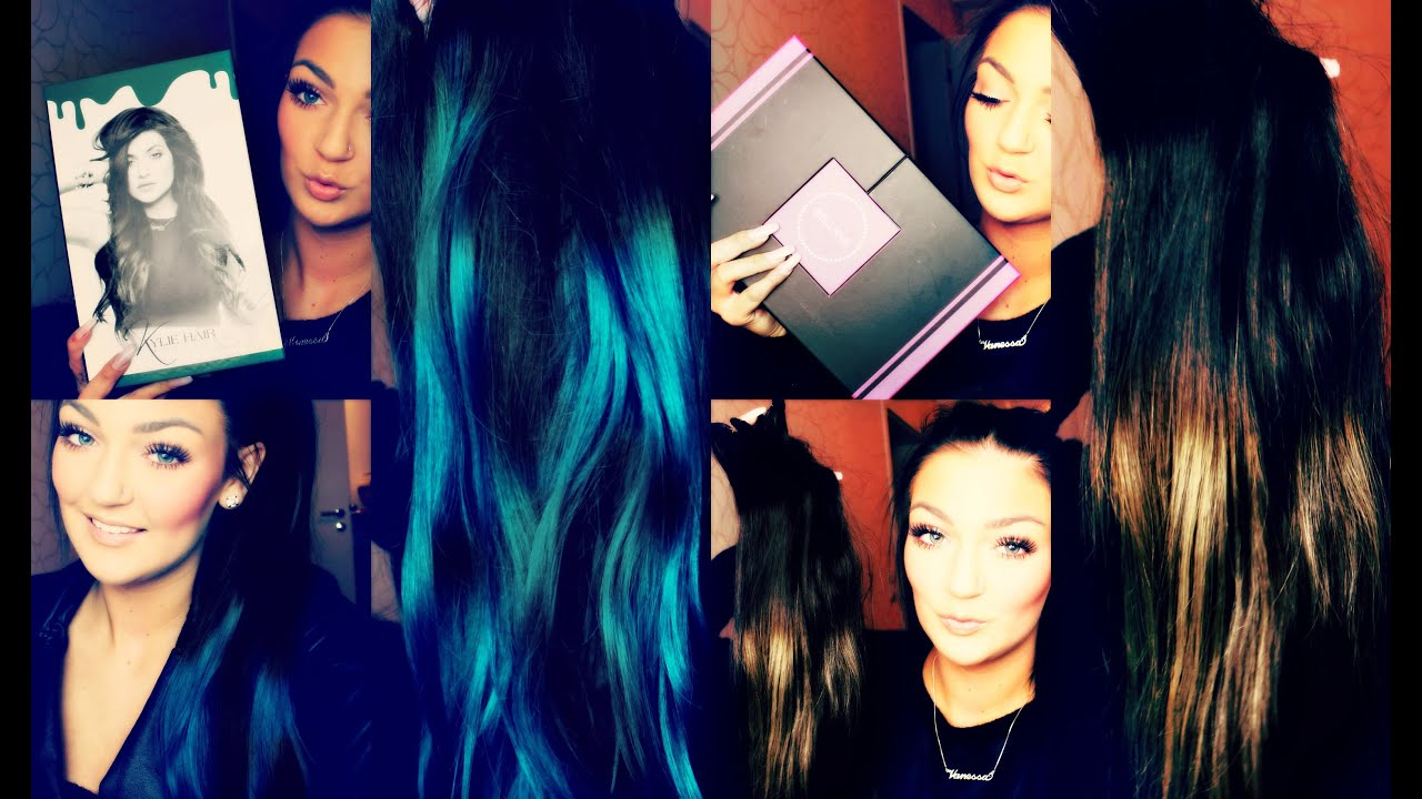 First Impression Bellami Hair Extensions Kylie Jenner Guy Tang