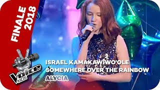 Israel Kamakawiwo'ole - Somewhere Over The Rainbow (Alycia) | Finale | The Voice Kids 2018 | SAT.1