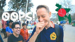We Ate It WRONG 🤣 | Dhaka Street Food | Kath Badam Nut