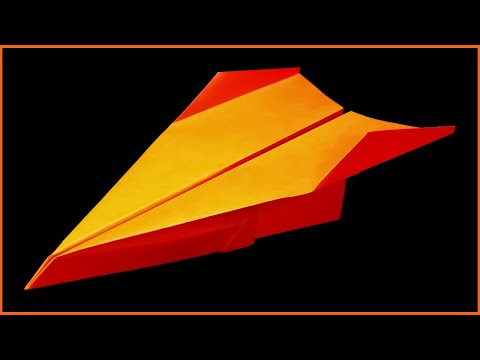 Best paper planes - How to make a Paper airplane - Easy paper airplanes that FLY FAR . Tresh - default