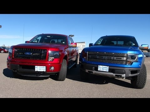TFL 2014 Ford F-150 SVT Raptor vs Ford FX4 Mashup Review (Episode 4) - UCO-85LYfB61OP4SRAgpfncw