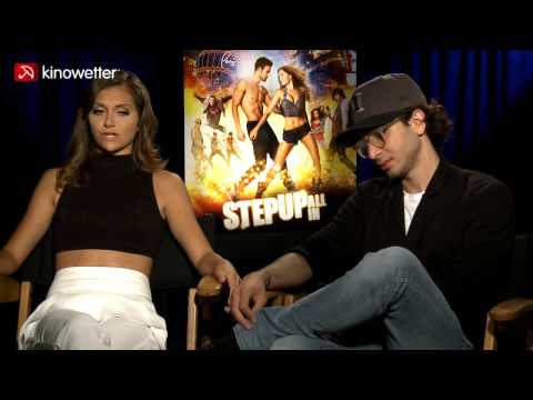 Interview Alyson Stoner & Adam G. Sevani STEP UP ALL IN - UCIAoBNzgrpEMfNGyCkZyzcg