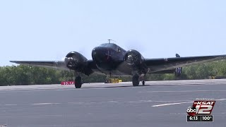 World War II combat veteran takes control of historic aircraft
