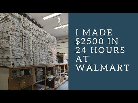 Retail Arbitrage at Walmart:  I Made $2500 in one night on one item - UCcJVDkpISU0Y19miNxRLJNQ