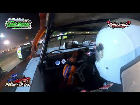 #82 Jace Parmley - Cash Money Late Model - 7-23-2021 Dallas County Speedway - In Car Camera - dirt track racing video image