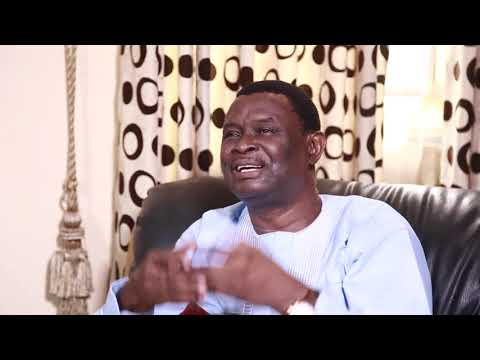 Mike Bamiloye sharing the story of his life with Omolara Ayoola on THE ICONIC SHOW