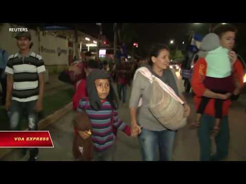 Di dân Honduras tiếp tục đổ về biên giới Mỹ (VOA)
