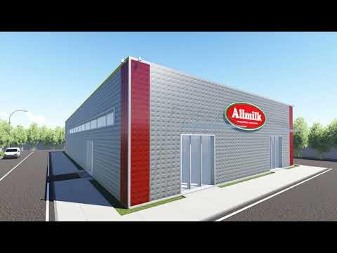 Video fasi costruzione stabilimento Alimilk Taviano (LE)