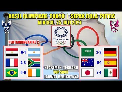 HASIL OLIMPIADE TOKYO 2021 HARI INI ~ ARAB SAUDI VS JERMAN ...