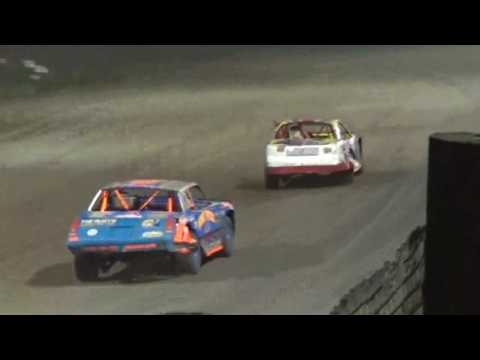 IMCA Stockcar Feature Marshalltown Speedway 9/17/16 - dirt track racing video image