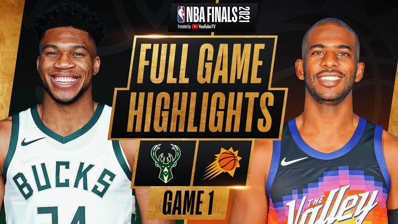 BUCKS at SUNS | FULL GAME 1 NBA FINALS HIGHLIGHTS | July 6, 2021