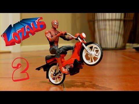 SPIDERMAN Stop Motion Action Video Part 2 - UC59jm6JUT_PNciq8XNHDCbA