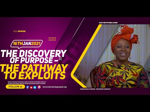 Dr Becky Paul-Enenche - SEEDS OF DESTINY  SATURDAY JANUARY 16, 2021
