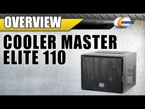 COOLER MASTER Elite 110 Mini-ITX Tower Computer Case  Overview - Newegg TV - UCJ1rSlahM7TYWGxEscL0g7Q