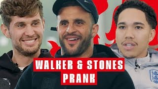Did You Think You Were Pranking Us? | Kyle Walker & John Stones BudLight Prank | England