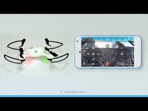 Amcrest SkyView RC Drone A4-W & A6-B - App Quick Flight Tutorial - UCCjuaC_180wxIzcUrJK9vMg