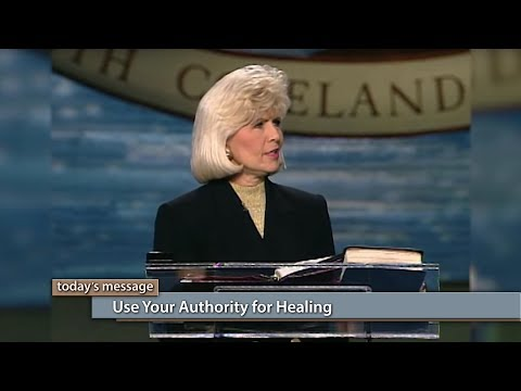 Use Your Authority for Healing
