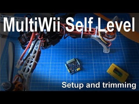 (7/7) How to setup and trim auto-level on a Multiwii board - UCp1vASX-fg959vRc1xowqpw