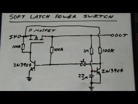 EEVblog #262 - World's Simplest Soft Latching Power Switch Circuit - UC2DjFE7Xf11URZqWBigcVOQ