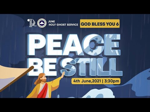 RCCG JUNE 2021 HOLY GHOST SERVICE - PSF HOUR