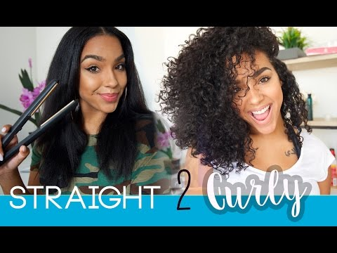 STRAIGHT BACK TO CURLY with HAIR STEAMER DEEP CONDITION! - UCg3_ouPNOFSbjU_eYg4HslA