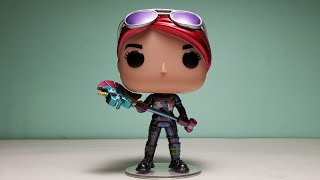 4K Funko Pop Games #427 Fortnite Brite Bomber Amazon Exclusive METALLIC Version Unpacking!