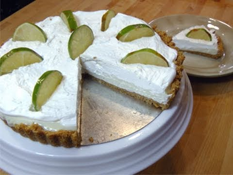 No-Bake Key Lime Pie from Scratch - Recipe Laura Vitale - Laura In The Kitchen Episode 58 - UCNbngWUqL2eqRw12yAwcICg