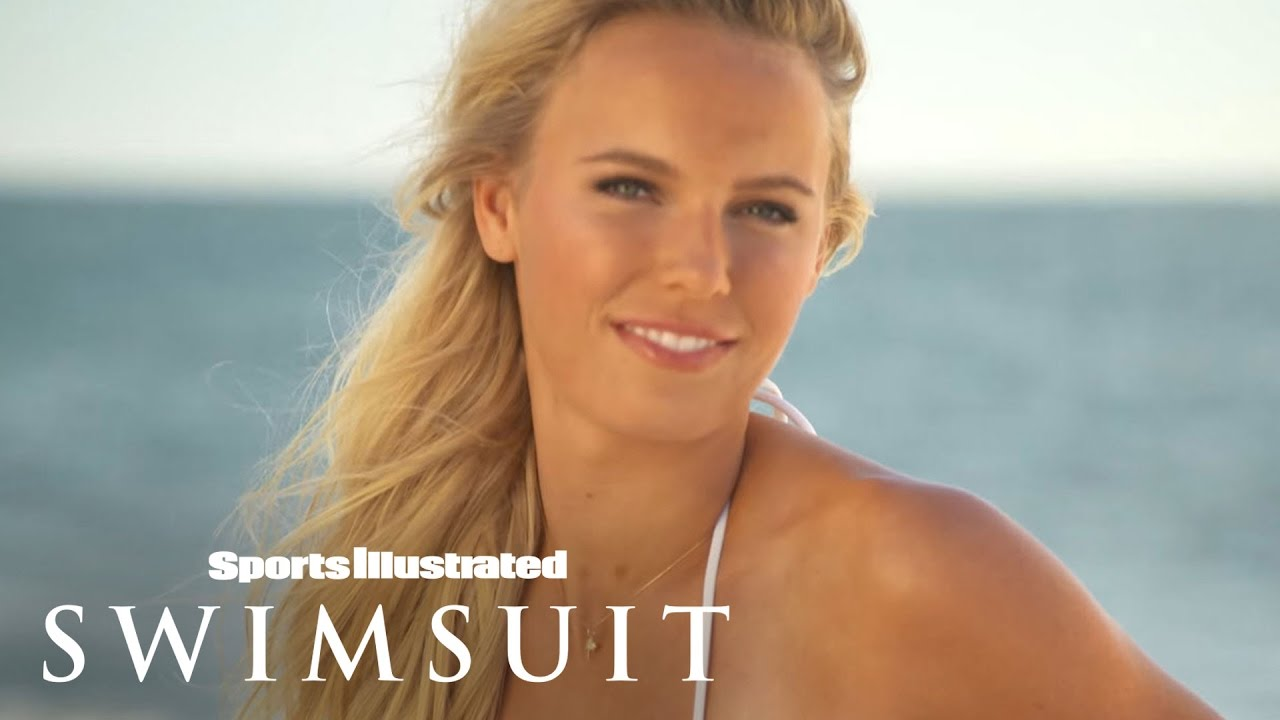 Ronda Rousey & Caroline Wozniackibehind The Tanlines   Sports Illustrated Swimsuit