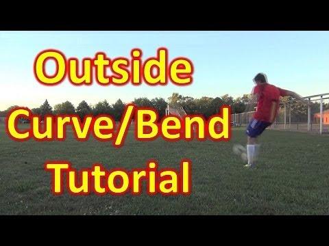 Outside Curve/Bend Soccer/Football Freekick Tutorial - vujojosh - UCUU3lMXc6iDrQw4eZen8COQ