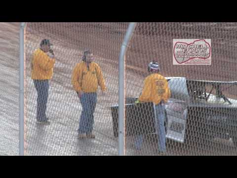 Boyd's Speedway 1/28/17 Cabin Fever Modified Feature! - dirt track racing video image