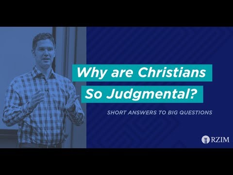27. Why Are Christians So Judgmental?
