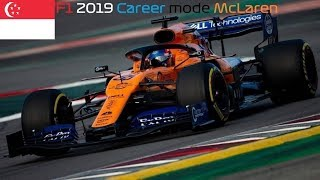 F1 2019: Career McLaren F1 Team | S1E15 | Singapore Grand Prix