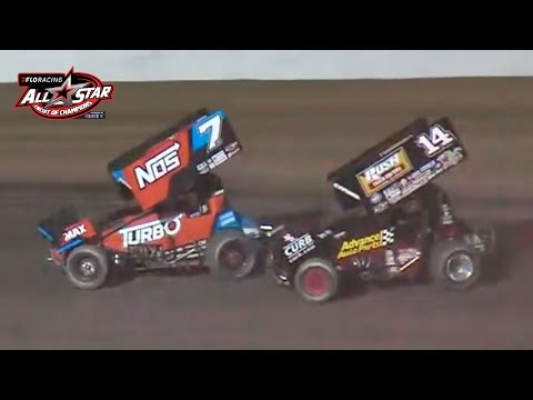 Madman vs. Sunshine at 34 Raceway | FloRacing All Star Sprints Feature - dirt track racing video image