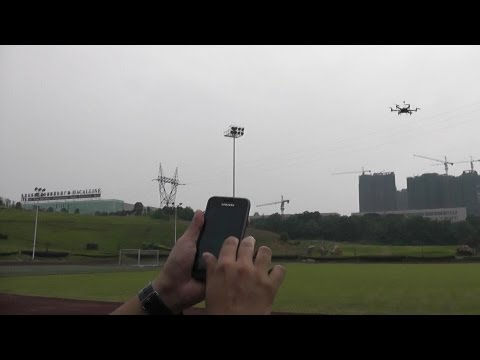 YS-X6 Flight Testing Pt.2 - Flight with Android Phone - UCsFctXdFnbeoKpLefdEloEQ