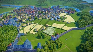 Foundation   Ep. 3   Building the Farmstead & City Improvements   City Building Tycoon Gameplay