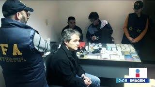 Carlos Ahumada denuncia persecución en su contra   Noticias con Yuriria Sierra