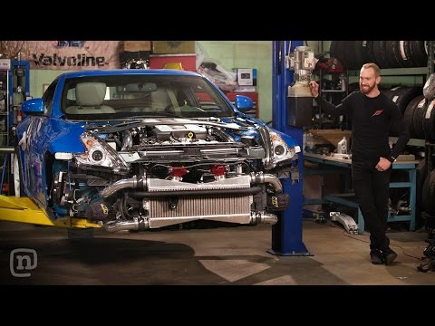 Dual Turbo Street Car Upgrade & A Missile Makeover: Drift Garage Ep. 202 - UCsert8exifX1uUnqaoY3dqA