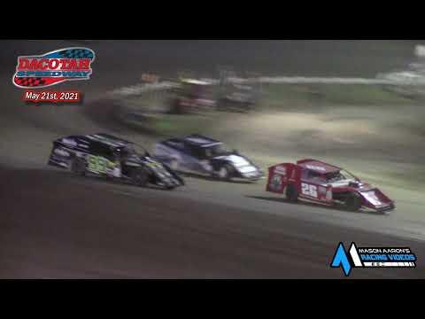 Dacotah Speedway IMCA Modified A-Main (5/21/21) - dirt track racing video image