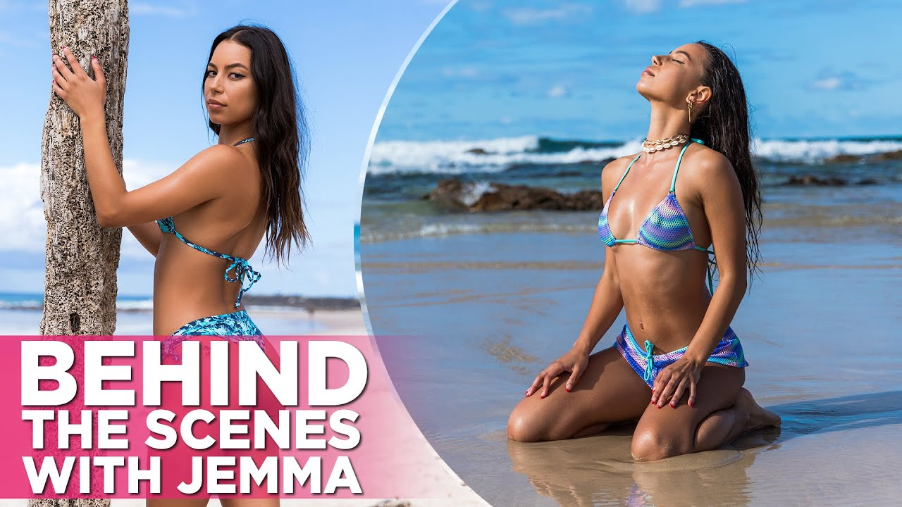 A Vision In Sheer: Jemma Stars In This Wicked Weasel Sexy Beach Fantasy Video