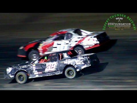 Desert Thunder Raceway IMCA Stock Car Main Event 8/28/21 - dirt track racing video image