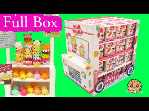 Full Ice Cream Truck Box of 48 Num Noms Surprise Blind Bag Cups - Cookieswirlc Video - UCelMeixAOTs2OQAAi9wU8-g
