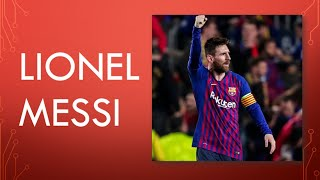 LIONEL MESSI:THE MAN WHO LIVED FOOTBALL.