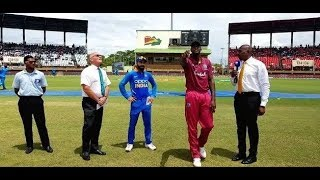 Ind Vs WI 3rd Odi: WI win the toss and choose bat first