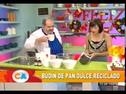 Budín de Pan dulce reciclado - UCb8W2JPNwMtV4xA0LFb3LUw