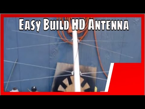Eggbeater TV Antenna  Do it yourself homemade! 2, 4, 6