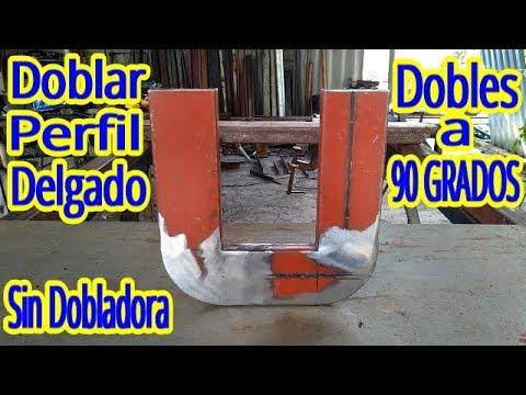 Forma de Doblar Perfil o Tubular Delgado a 90 Grados( SIN DOBLADORA ) - UChUDQr43k8DMqa1DGeoosmg