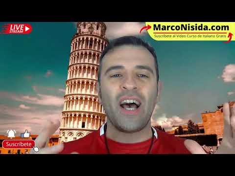 Curso de Italiano Básico 7 - Aprender Italiano, Frases en Italiano, Conversaciones con Marco Nisida